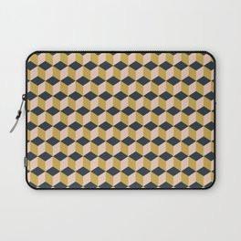 Making Marks Cube Illusion Dark Laptop Sleeve