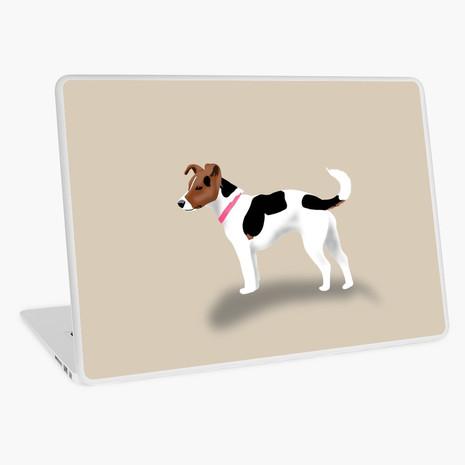 Jack Russell Laptop Skin