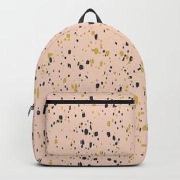 Making Marks Splatter Pink Backpack