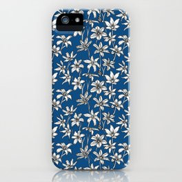 Blue Glory of the Snow iPhone Case