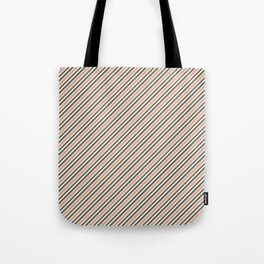 Making Marks Diagonal Stripes Tote Bag