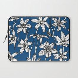 Blue Glory of the Snow Laptop Sleeve