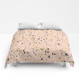 Making Marks Splatter Pink Comforter