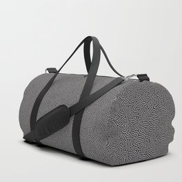 Making Marks Textured Surface Navy Pink Duffle Bag