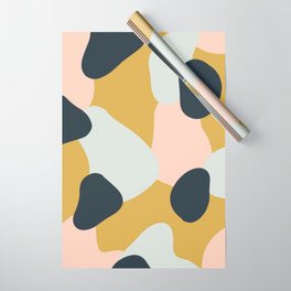 Making Marks Layered Shapes Wrapping Paper