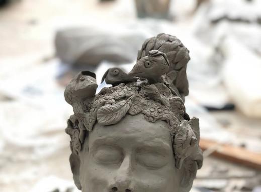 stage sculpture débutant