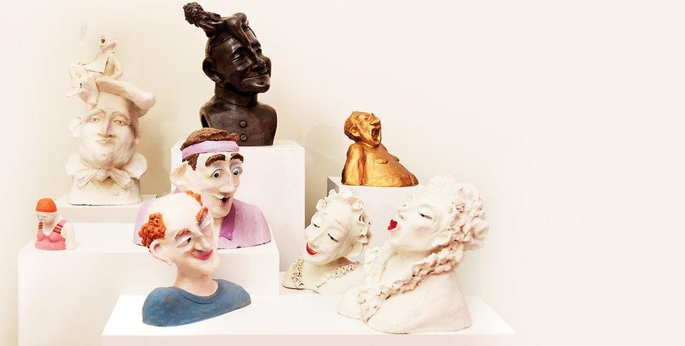 Charlotte Petit sculptures stage modelage