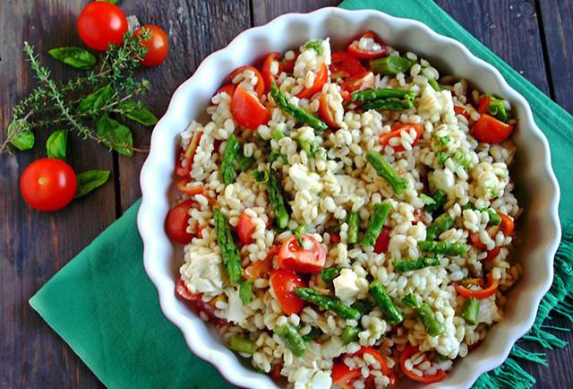 Insalata di Orzo - Barley Salad