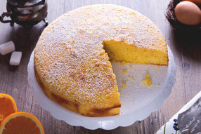 TORTA SOFFICE ALL'ARANCIA - ORANGE CAKE