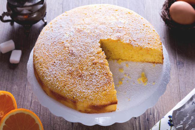 TORTA SOFFICE ALL'ARANCIA - ORANGE CAKE