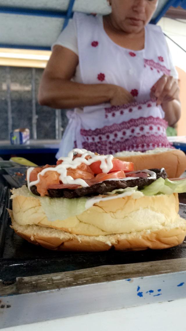 Street Food In Nicaragua