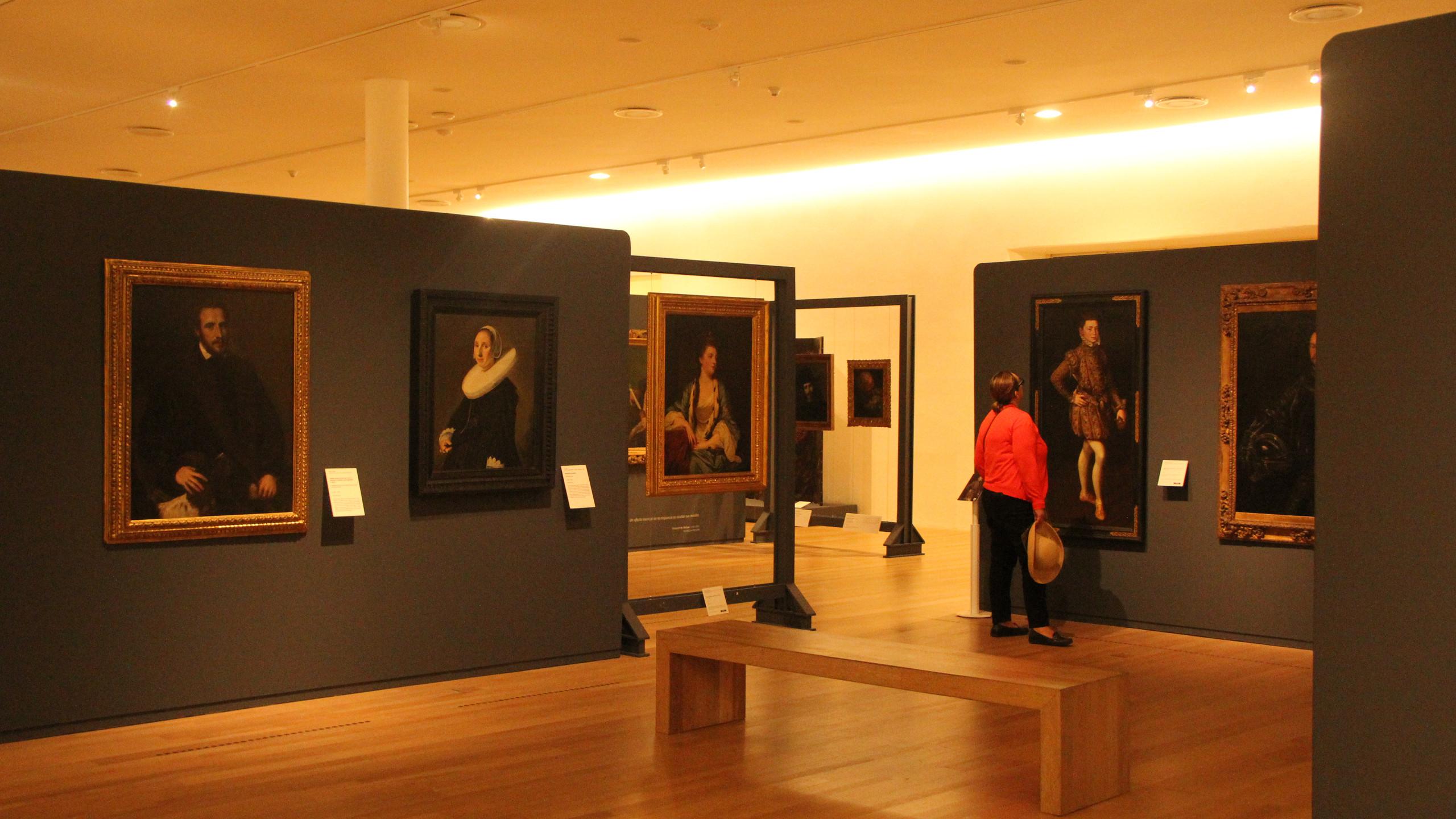 Paintings 3rd floor Soumaya