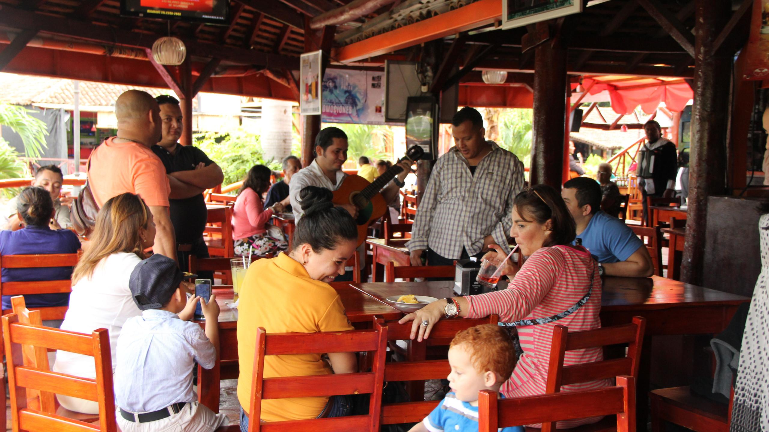 Restaurant in Puerto Salvador