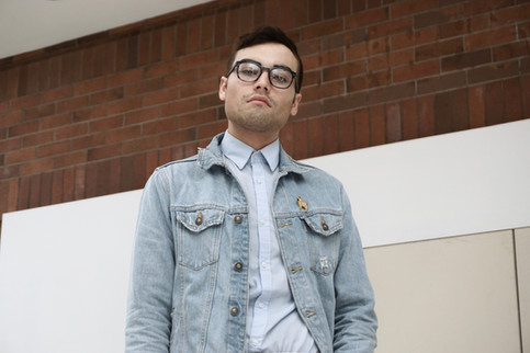 Try A Denim Jacket With Your Formal Attire