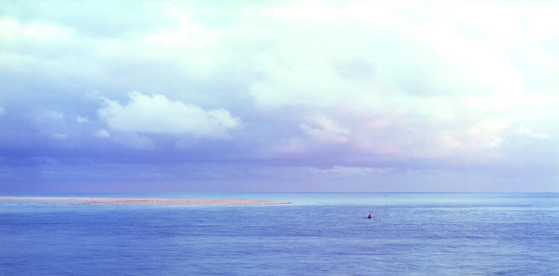 Monomoy Island Serene Blue and Red Nun.j