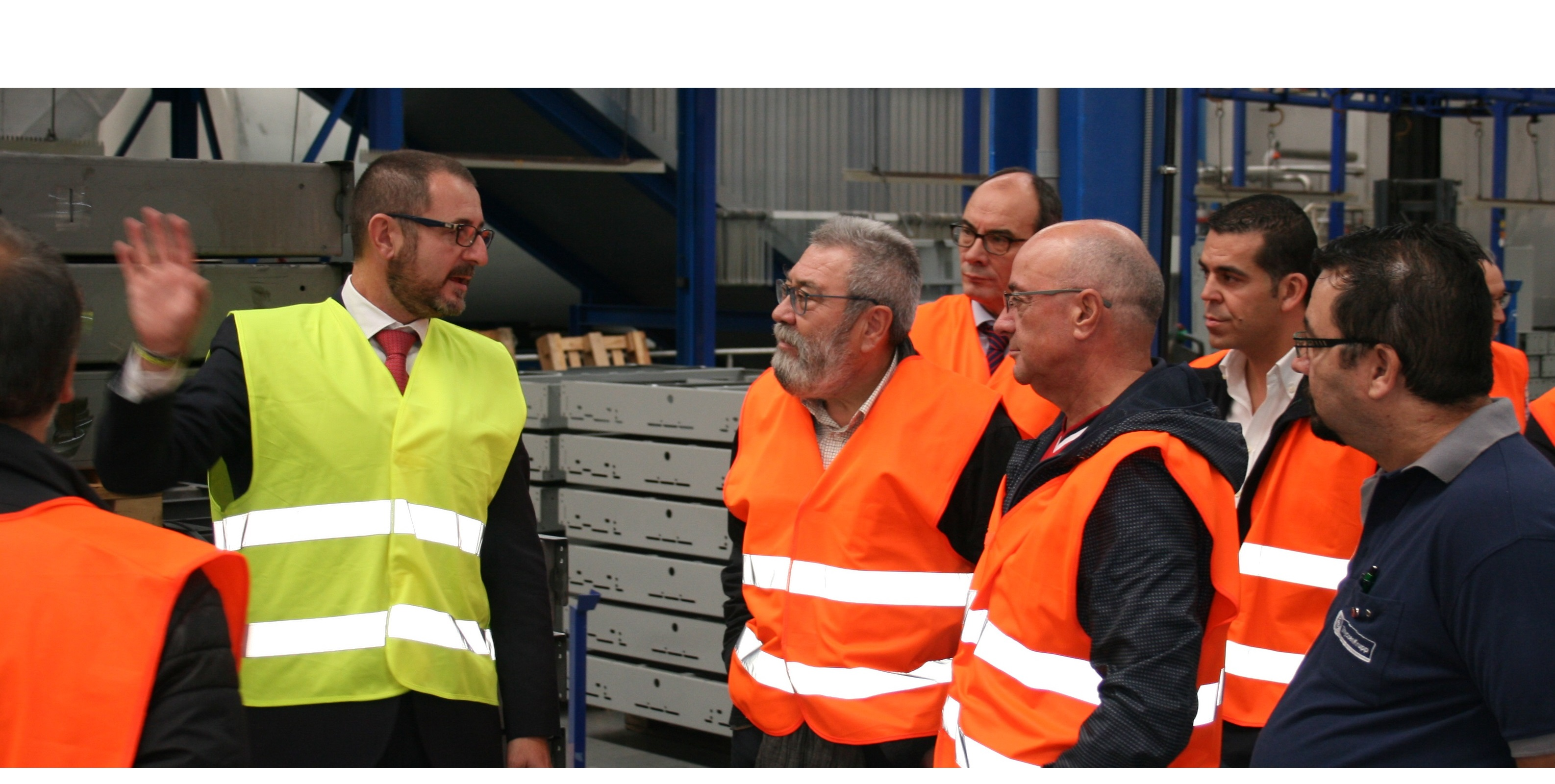UGT visits our Thyssenkrupp factory