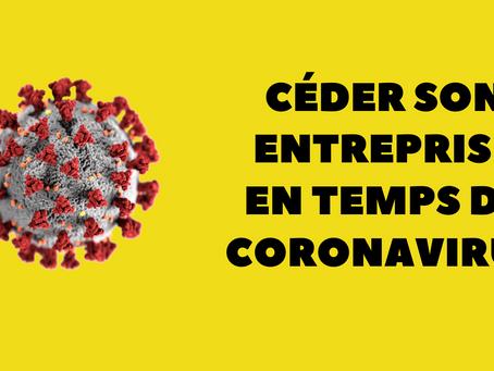 Céder son entreprise pendant le coronavirus