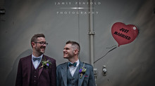 Adam and Andy's Woodhill Hall Wedding