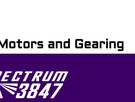 DC Motors and Gearing