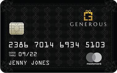 Generous Experience Black Card