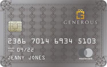 Generous Experience Platinum Card