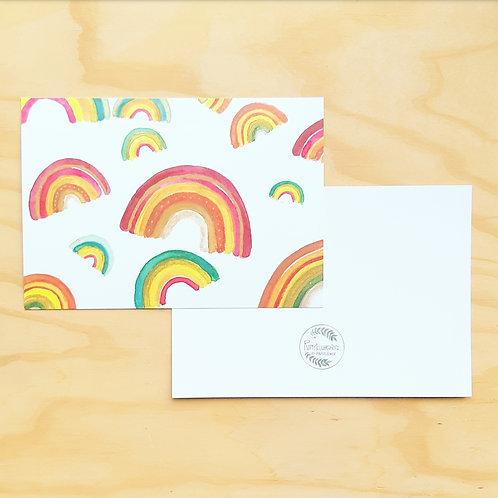 'Rainbows' Mini poster A5