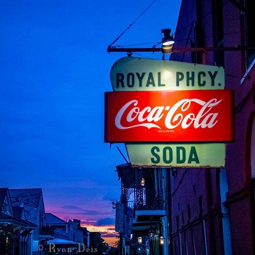 D1C3 Dot- Royal Pharmacy at Sunset