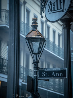 34- St. Ann Street Lamp