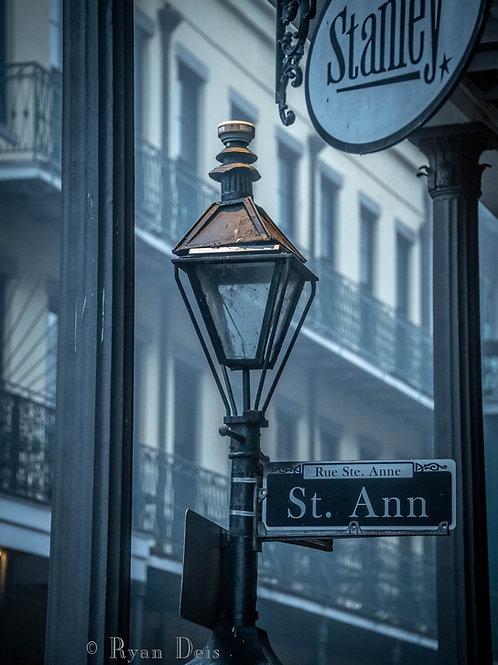 St. Ann Street Lamp
