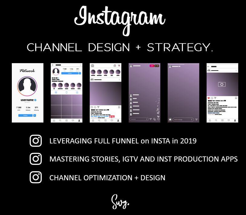 Instagram Social Channel Design image