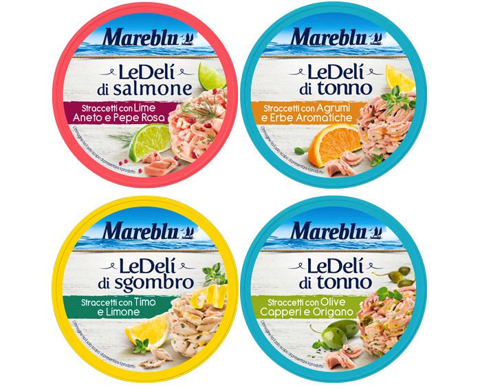 Packaging Mareblu LeDelì