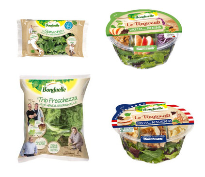 Packaging Insalate Bonduelle