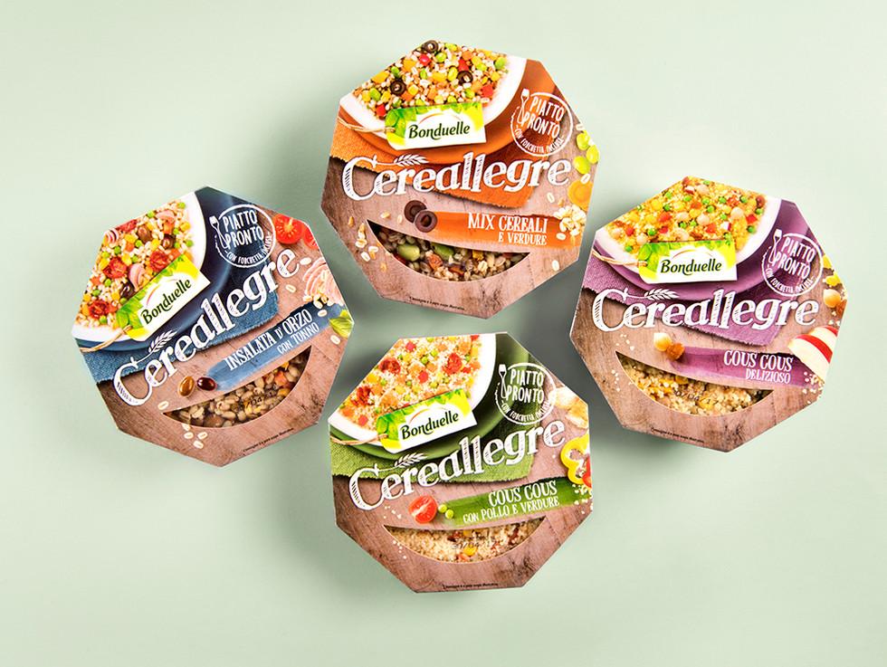 Packaging Cereallegre Bonduelle
