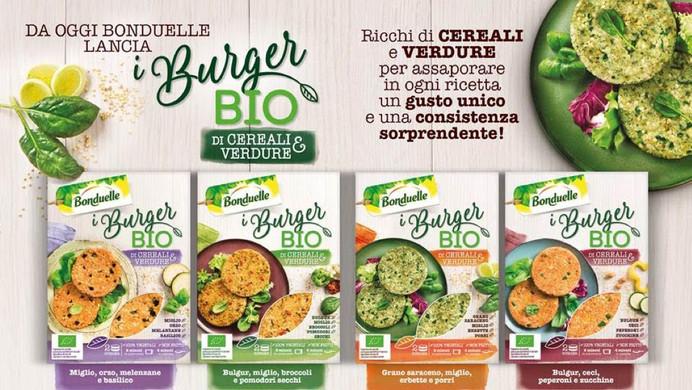 Packaging BioBurger Bonduelle