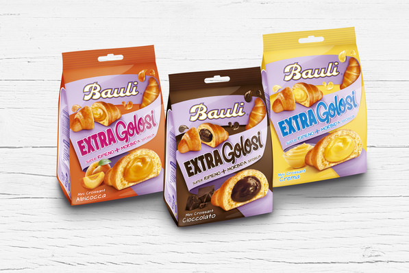 Restyling Packaging Bauli Extragolosi