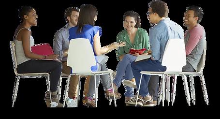 Grupo de estudo - sem fundo e com sombra