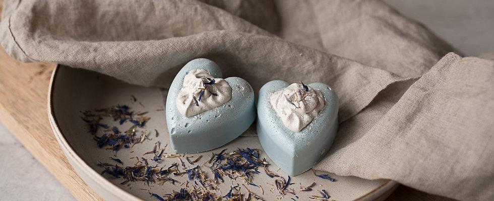 Seifenherz Eau bleue