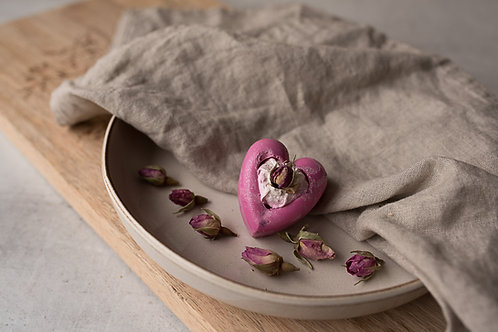 Seifenherz La Rose