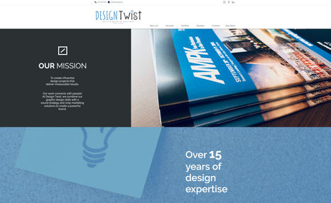 Design Twist Graphic and Web Design Boutique specializing in bu...