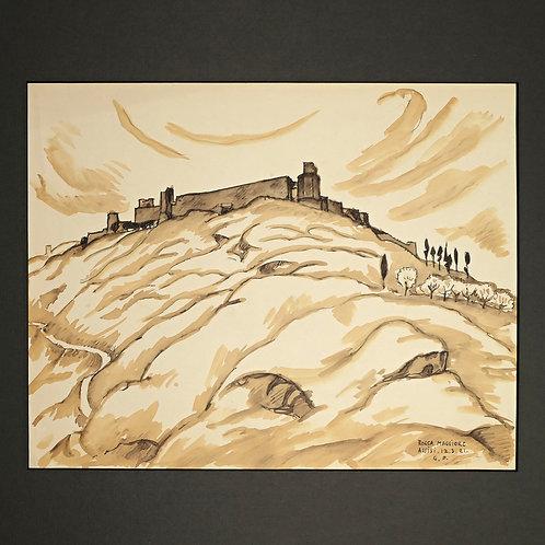 Georg Pauli: Assisi 1921