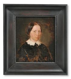 Kilian Zoll (1818-1860) - Henrietta Horn af Rantzien (1821-1874), konstnärens fästmö - (sold)
