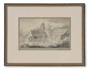 Carl Peter Hilleström (1760–1812) - Gårdsplan