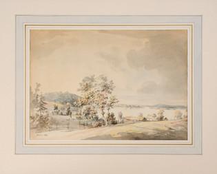 Jonas Carl Linnerhielm (1758–1829) - Vid Kråkenäs, nära Växjö - (sold)