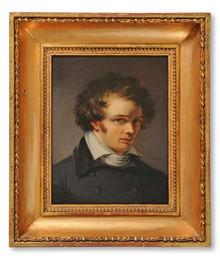 Johan Gustaf Sandberg (1782–1854) - Vänporträtt av Bengt Erland Fogelberg (1786–1854)