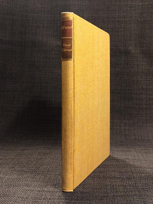 Eklund: Edouard Manet, författarens exemplar