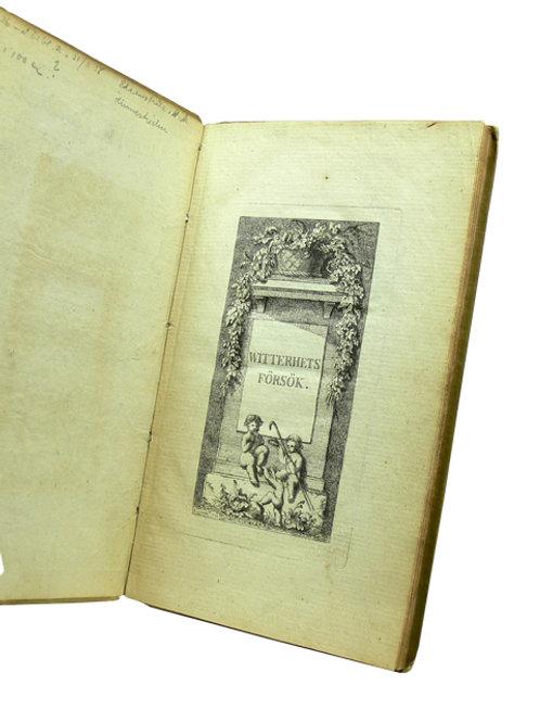 Helena Maria Linnerhielm: Witterhets försök, 1795