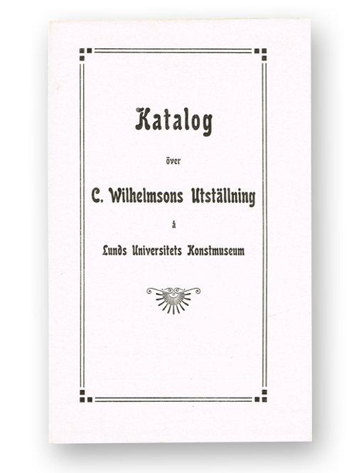 Carl Wilhelmson, 1911