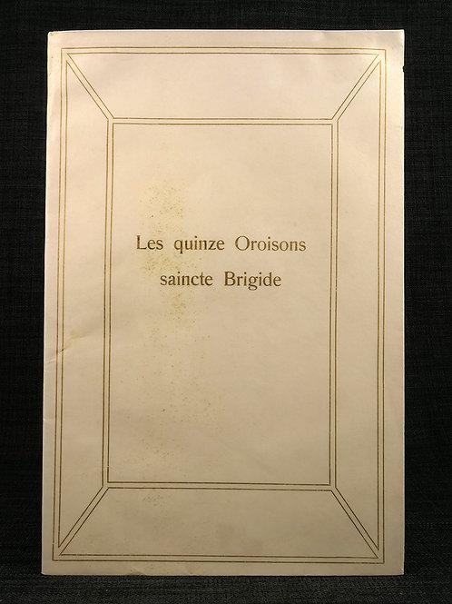 Birgitta: Les Quinze Oroisons