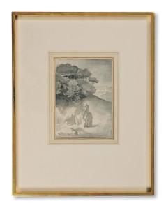Yngve Berg (1887-1963) - Kyssen. Till Goethes tjugonde elegi - (sold)