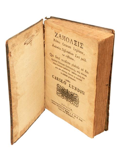 Carolus Lundius: Zamolxis